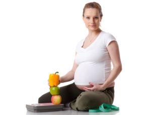 как похудеть во время беременности
