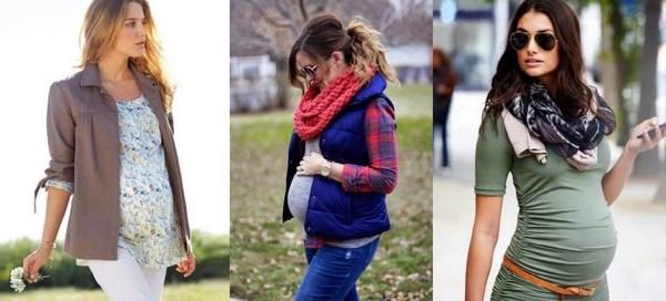 как одеваться беременным