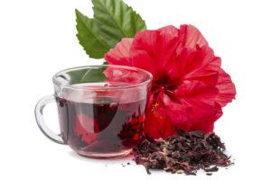 Чай из розы и гибискуса