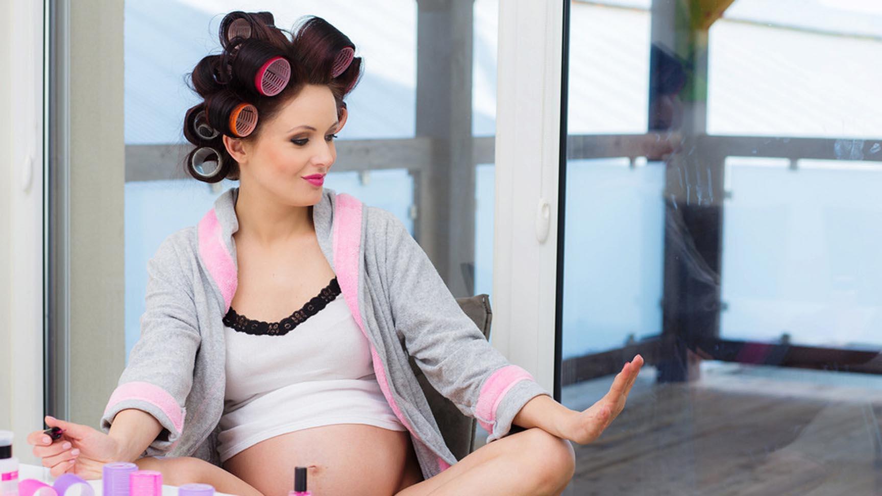 можно ли при беременности наносить макияж