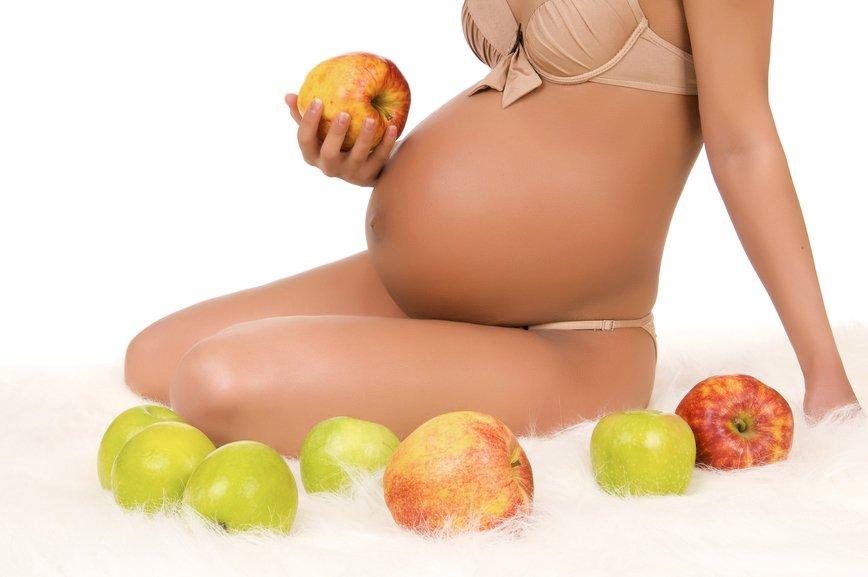 можно ли беременным яблоки